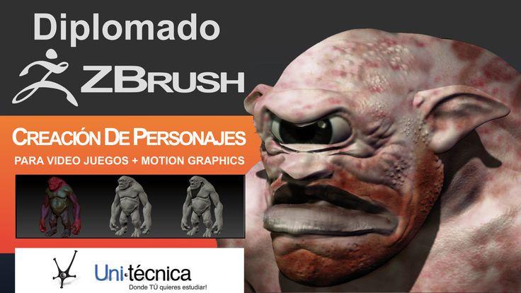Publicidad Diplomado Z-Brush Unitécnica 2015