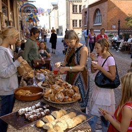 Haga old town Gothenburg, Sweden