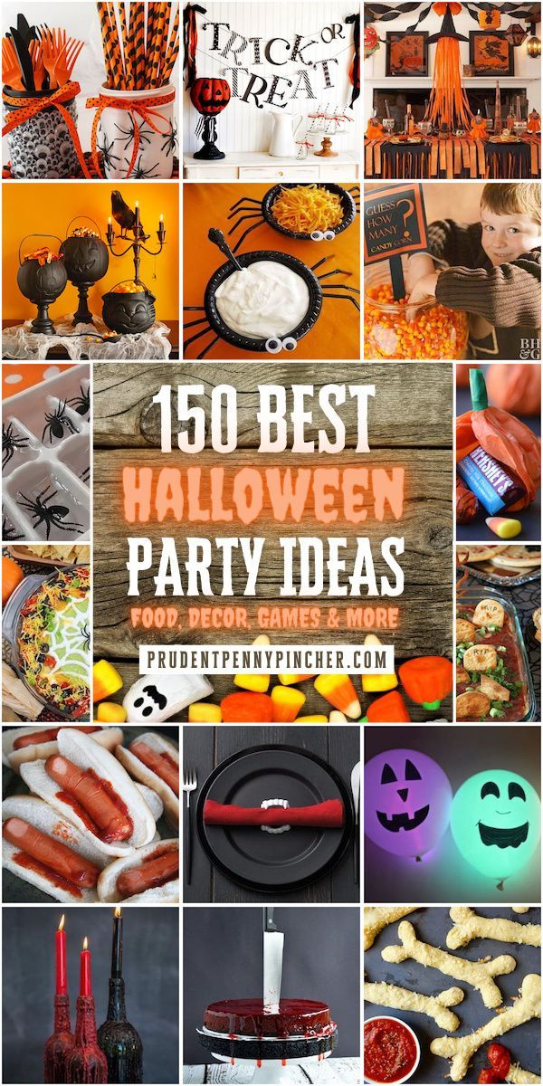 Halloween 2020 Kids Party Ideas 150 Halloween Party Ideas in 2020 | Halloween party kids