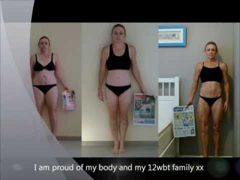 Check out Jade!! She dropped 25% of her body weight over two Rounds of the 12WBT! http://www.12wbt.com
