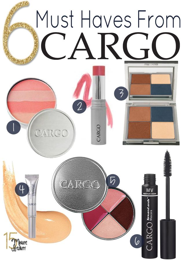 The Best Products You Must Try from Cargo Cosmetics