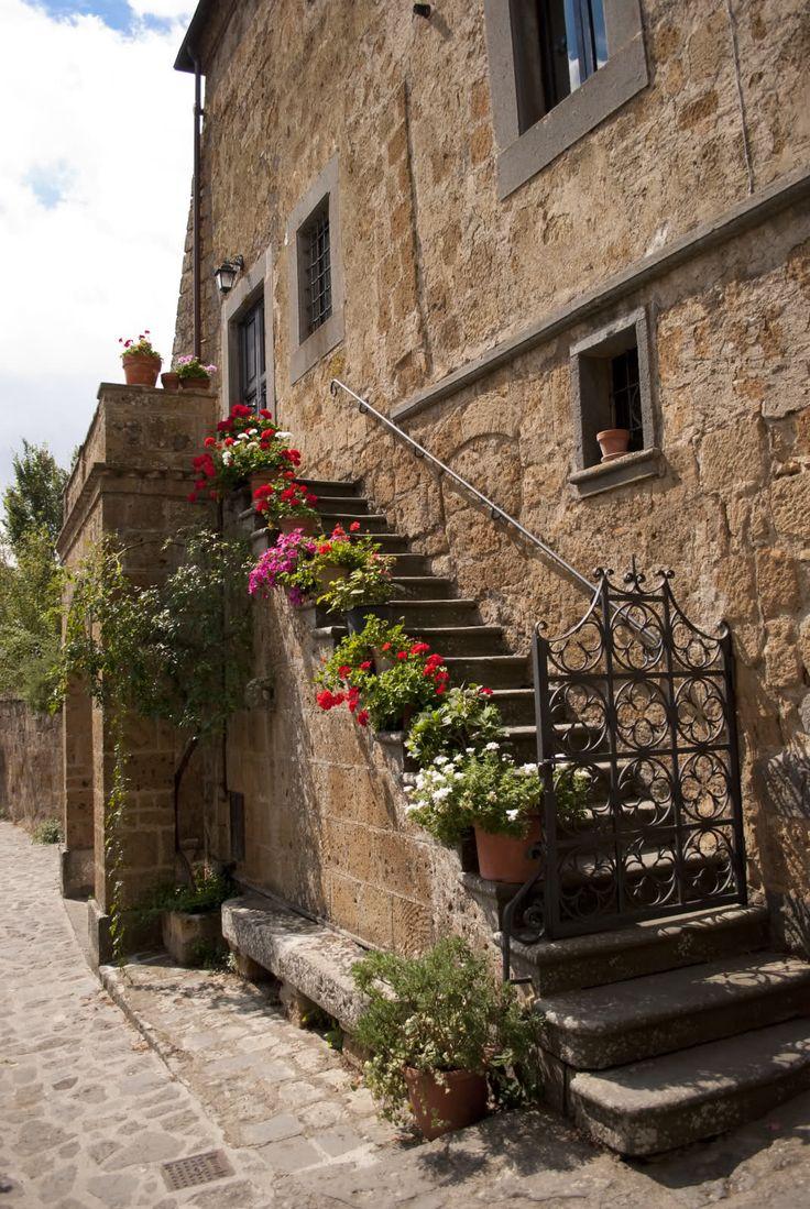 Civita di Bagnoregio near Viterbo, Central Italy. photo by Miss Penny