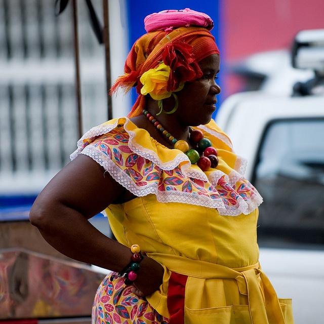 Palenquera, Cartagena, Colomiba. Photo: OneEighteen, via Flickr
