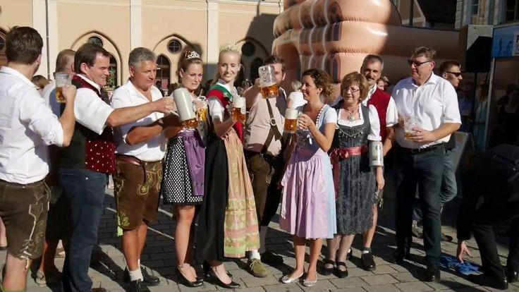 Bierprobe Volksfest Pfaffenhofen 2016