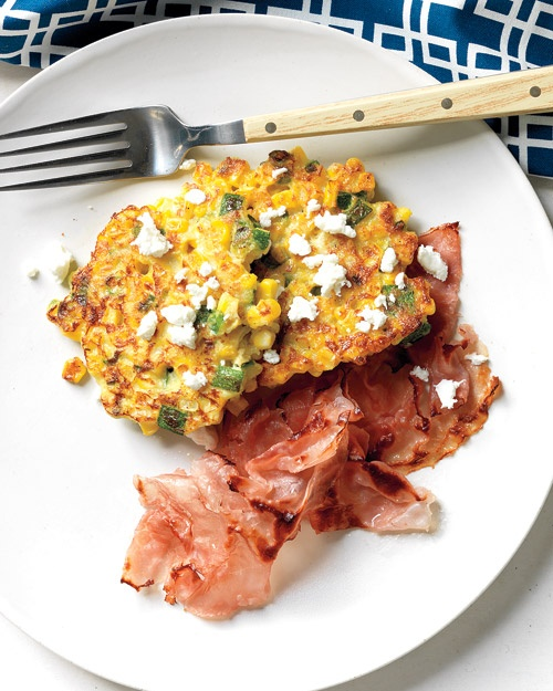 Corn Cakes with Goat Cheese | Recipe | Goats, Goat Cheese and Cheese