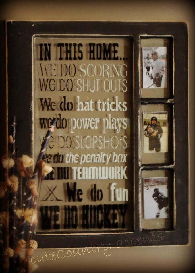 old windows We Do HOCKEY ~cuteCountry accents~
