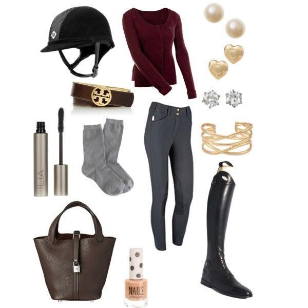 """Upcoming Fall Riding Outfit"" by amanda-schaetzi on Polyvore"