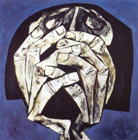 ''Hands of Silence'' Oswaldo Guayasamín