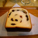 サンドウィッチパーラーまつむら - ぶどうパン115円