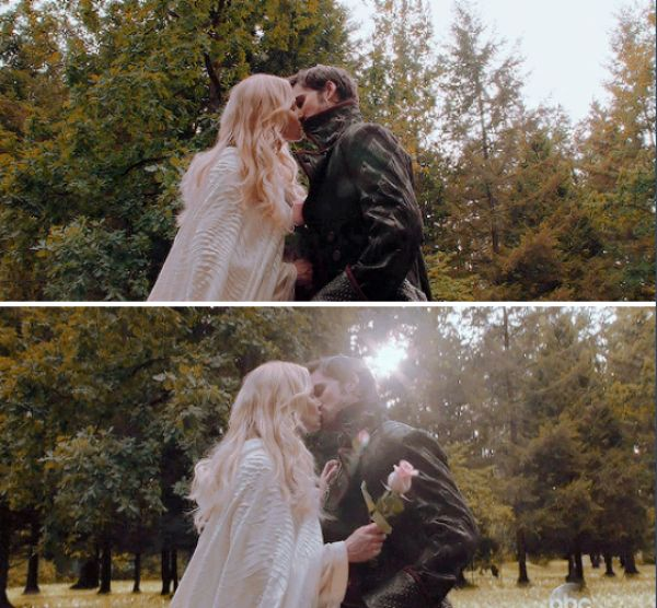 "Emma and Hook - 5 * 4""Broken Kingdom"" #CaptainSwan"
