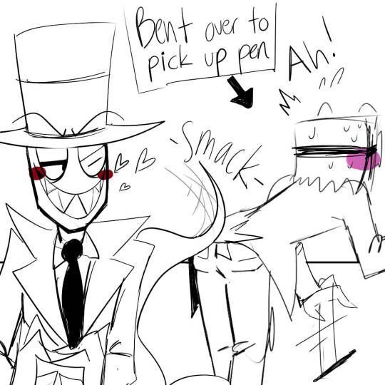 Black Hat x Flug | Villainous 2 0 | Cartoon drawings, Hat