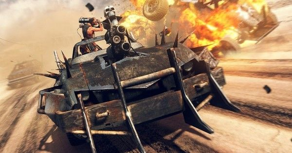 Like GTA But With Spikes On Cars -- You Have To See The New Mad Max Game Trailer