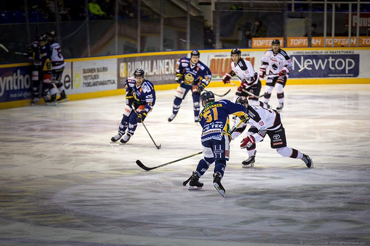 Attending a local ice hockey game in Rauma, Finland - Visiting Finland in Winter: Top 15 Winter Activities in Finland