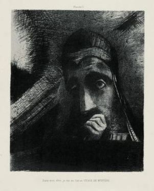 Odilon Redon, Homage to Goya, 1885