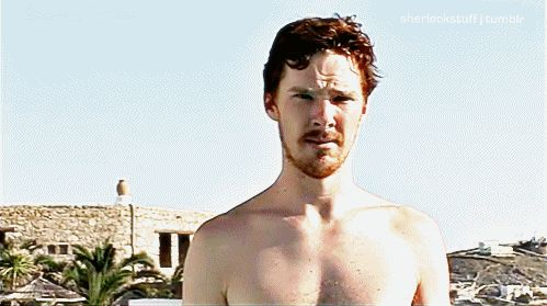 ONE OF THE BEST BENEDICT GIFS IN THE WORLD.