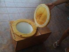 """Bio Baño """"Ecológico"""" - Inodoro seco (con área de compostaje separada)"""