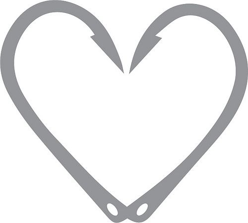 Home | The Craft Chop FREE SVG heart fish hooks fishing