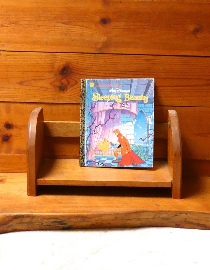 Vintage 1980's Little Golden Book Walt Disney's ' Sleeping Beauty' No: 104-66 by JessaBellas on Etsy
