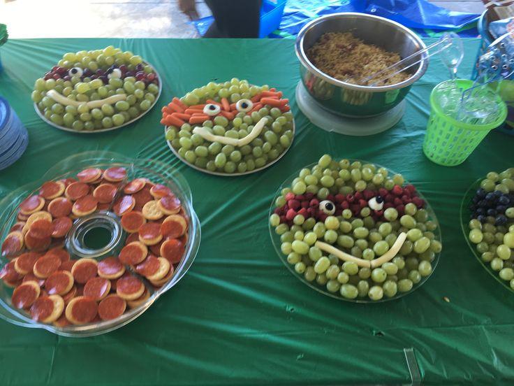 Ninja Turtle Party Food                                                                                                                                                                                 More