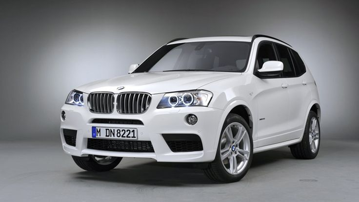 #White 2013 #BMW X3