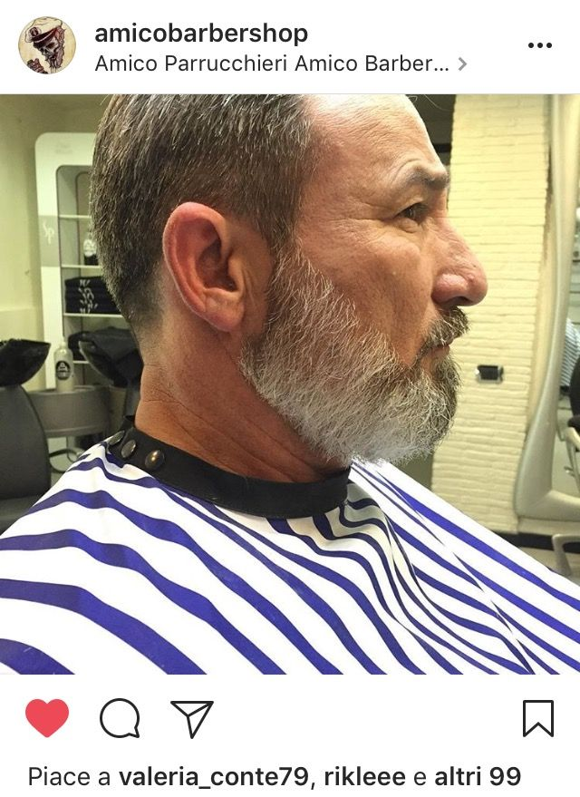 A Barber Shop , barba uomo bianca tel 077121939