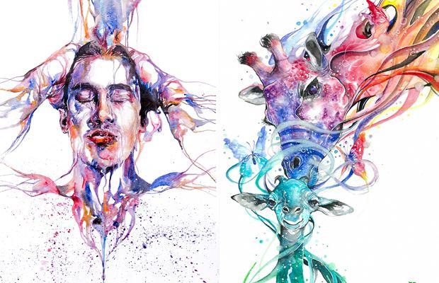 O artista Jongkie tornou-se mundialmente conhecido quando transformou seu talento em desenhar usando aquarelas em um negócio bem sucedido. Confira!