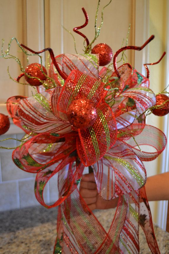 Christmas Tree Topper by kristenscreations on Etsy
