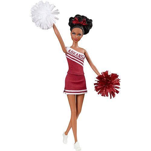 U Of Arkansas African American Barbie
