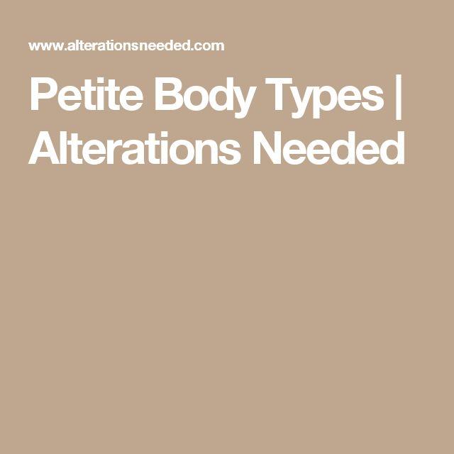 Petite Body Types | Alterations Needed