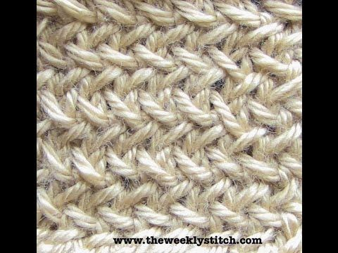 ▶ Little Herringbone Stitch - YouTube