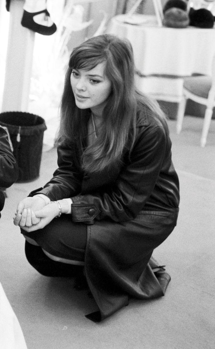 Barbara Kwiatkowska-Lass photographed by Jack Garofalo, Paris 1959.