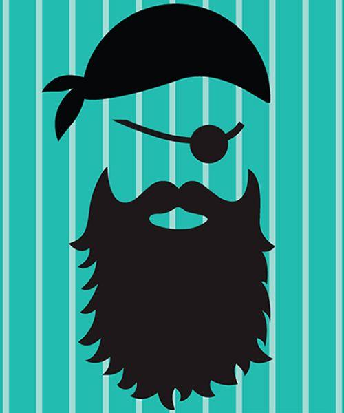 Parche PIRATA. Parche termoadhesivo para ser tan molón común pirata ¿Te has dejado la pata de palo en casa? Personaliza tu look mini me en #MimetteShop