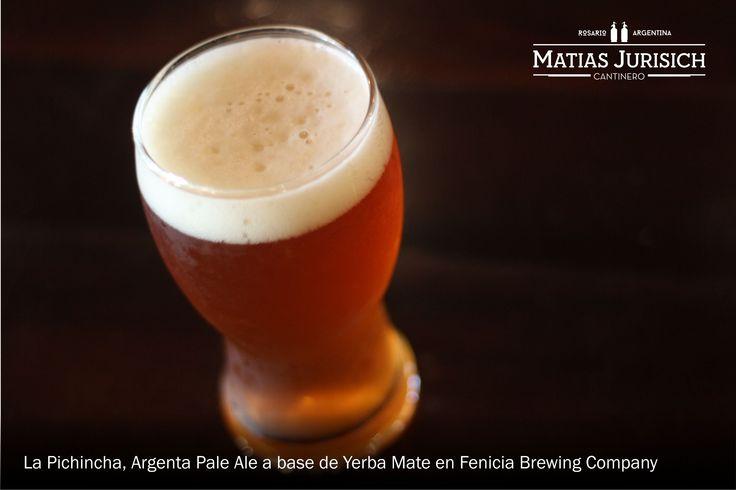 La Pichincha, Argenta Pale Ale en Fenicia Brewing Company (Avenida Francia 168, Rosario, Santa Fe, Argentina)