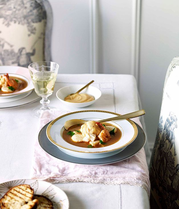 Bouillabaisse with rouille - Gourmet Traveller
