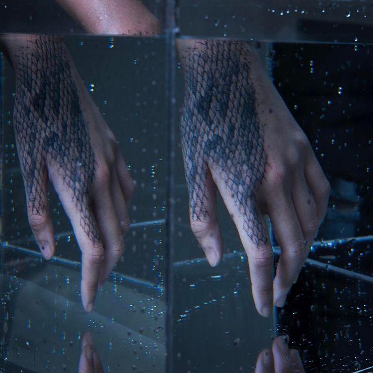 tattoo like art \ skin of the snake tattoo design