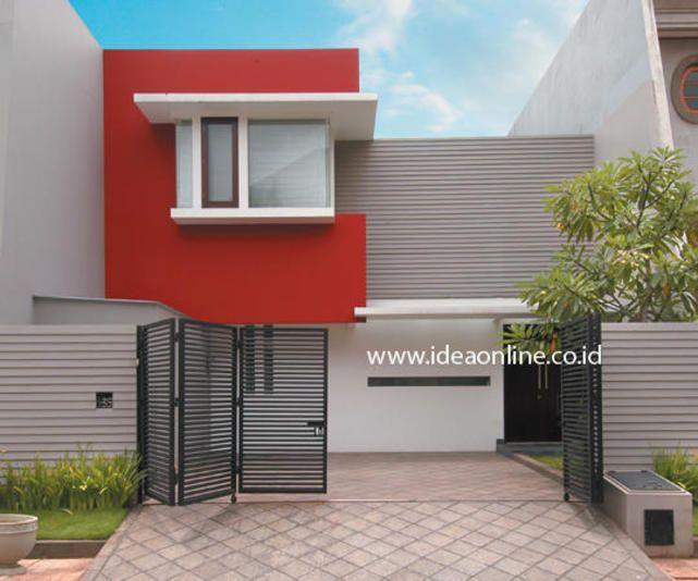 Fasad Rumah Modern Berlomba Curi Perhatian
