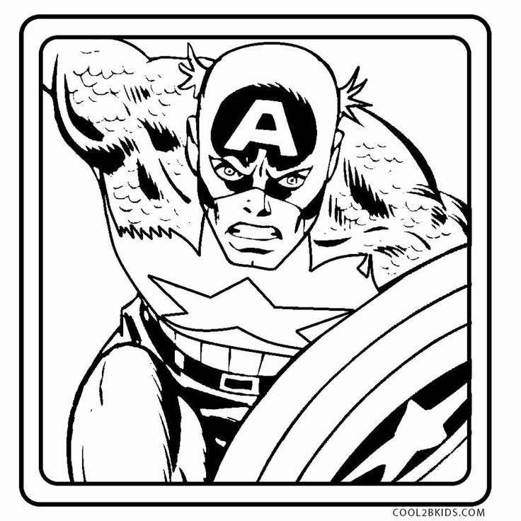 Captain America Shield Coloring Page Best Of Free