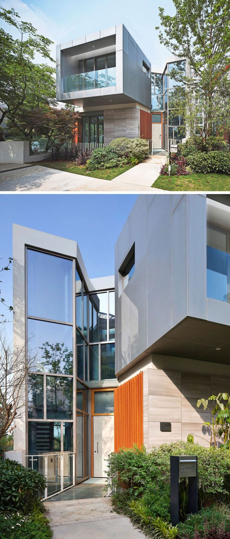 Best Architecture Residential Modern Images On Pinterest