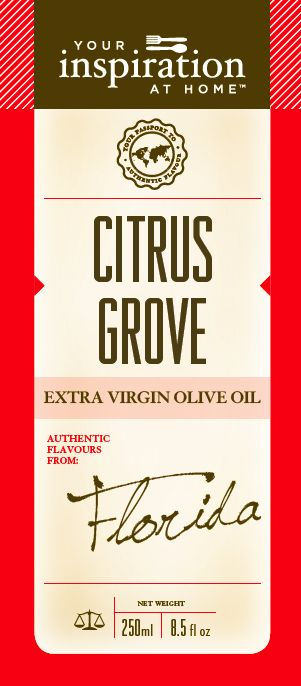 Citrus EVOO - Olive Oil  A zesty, zingy Australian Extra Virgin Olive Oil. Ideal for marinades, drizzling on a summer salad, chicken, pork. Pair with Honey Garlic Caramelised for a perfect sweet and sour combination.