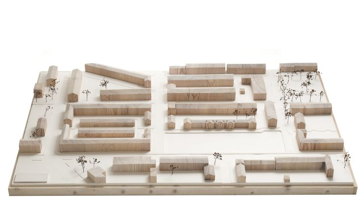 Site model, Upper Parliament Street site