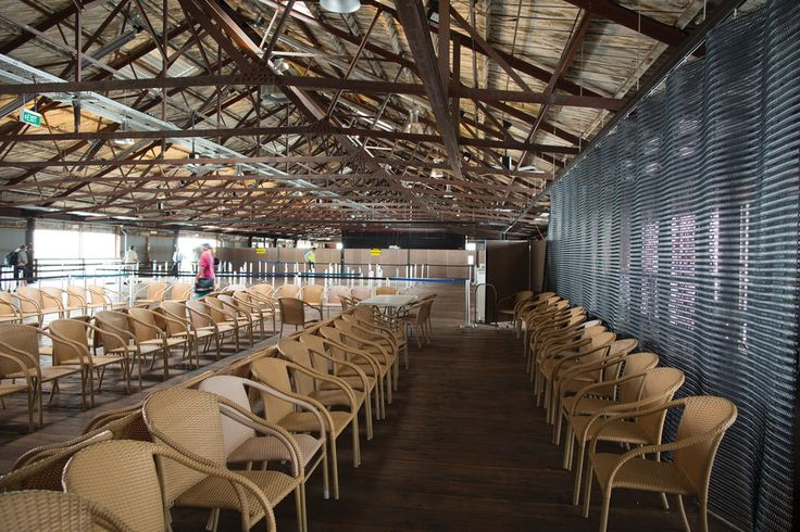 Kaynemaile Architectural Mesh Custom Folding Screen for Shed 10 in Auckland