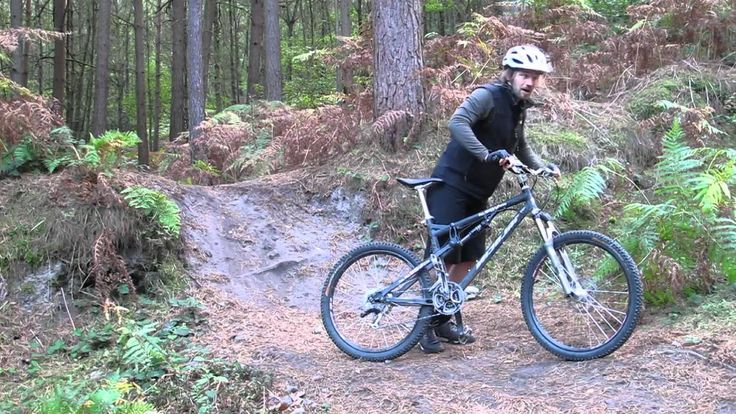 Mountain Bike Technique - Short Sharp and Steep Part 1