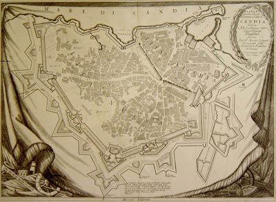 crete venetian maps