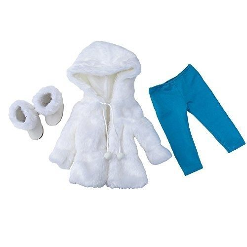 Princess Winter snow coat 3 pc set Doll Clothes for American Girl Dolls: Stunnin   eBay
