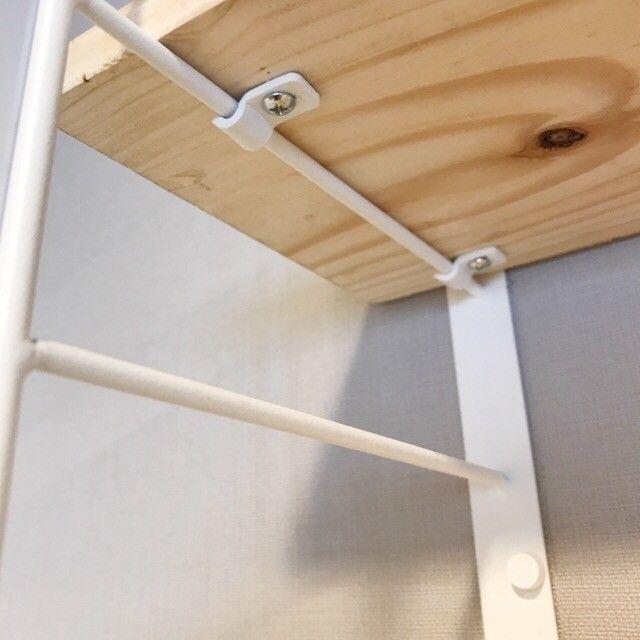 初心者も安心 お手頃価格の北欧風シェルフでキッチンをdiy 棚 自作