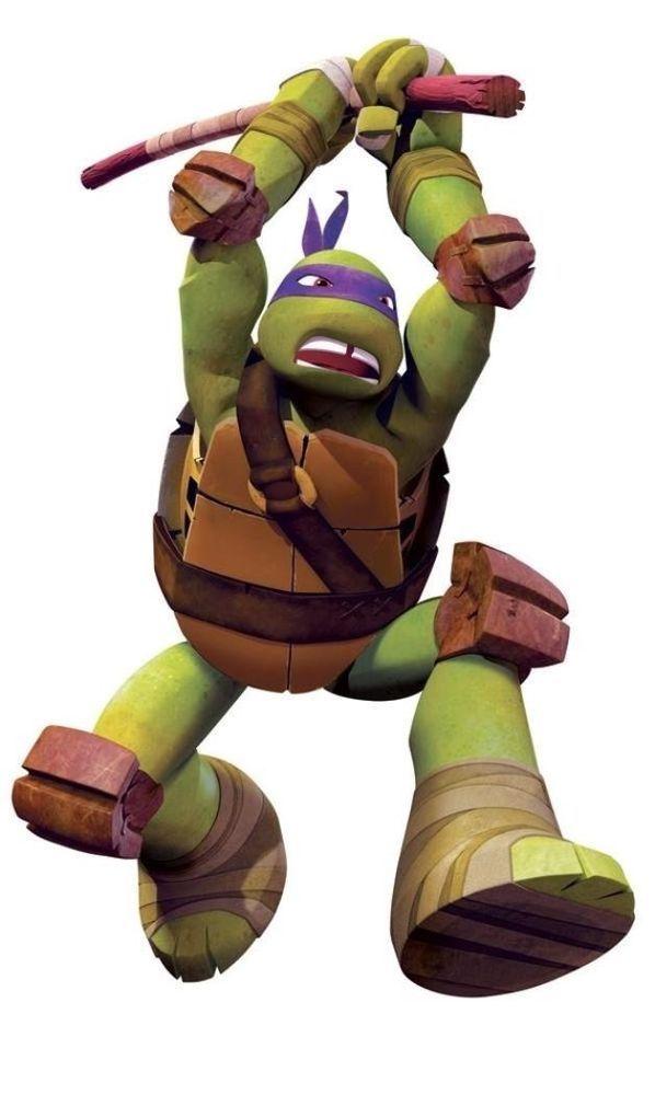 Teenage Mutant Ninja Turtles Donatello Big Peel & Stick Wall Decals 17 Decals