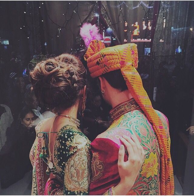 Indian Bride & Groom