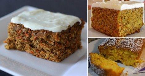 Torta+de+zanahoria+sin+huevo,+aceite+ni+manteca