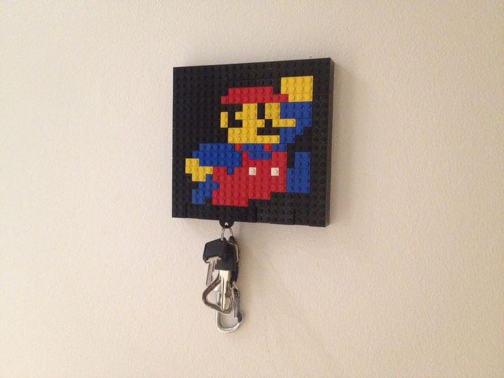 1000 Ideas About Lego Key Holders On Pinterest Keys