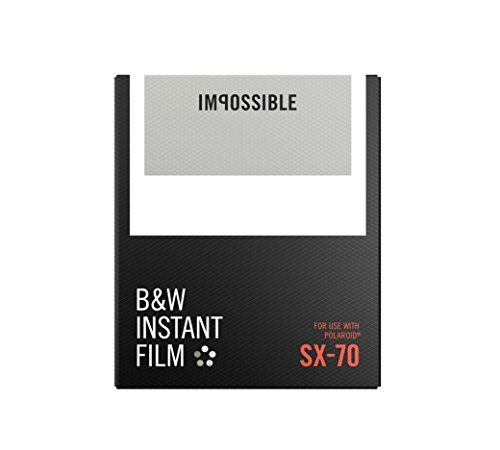 #deals The #Impossible Project instant black and white film with white frames for use in a Polaroid SX 70 cameras
